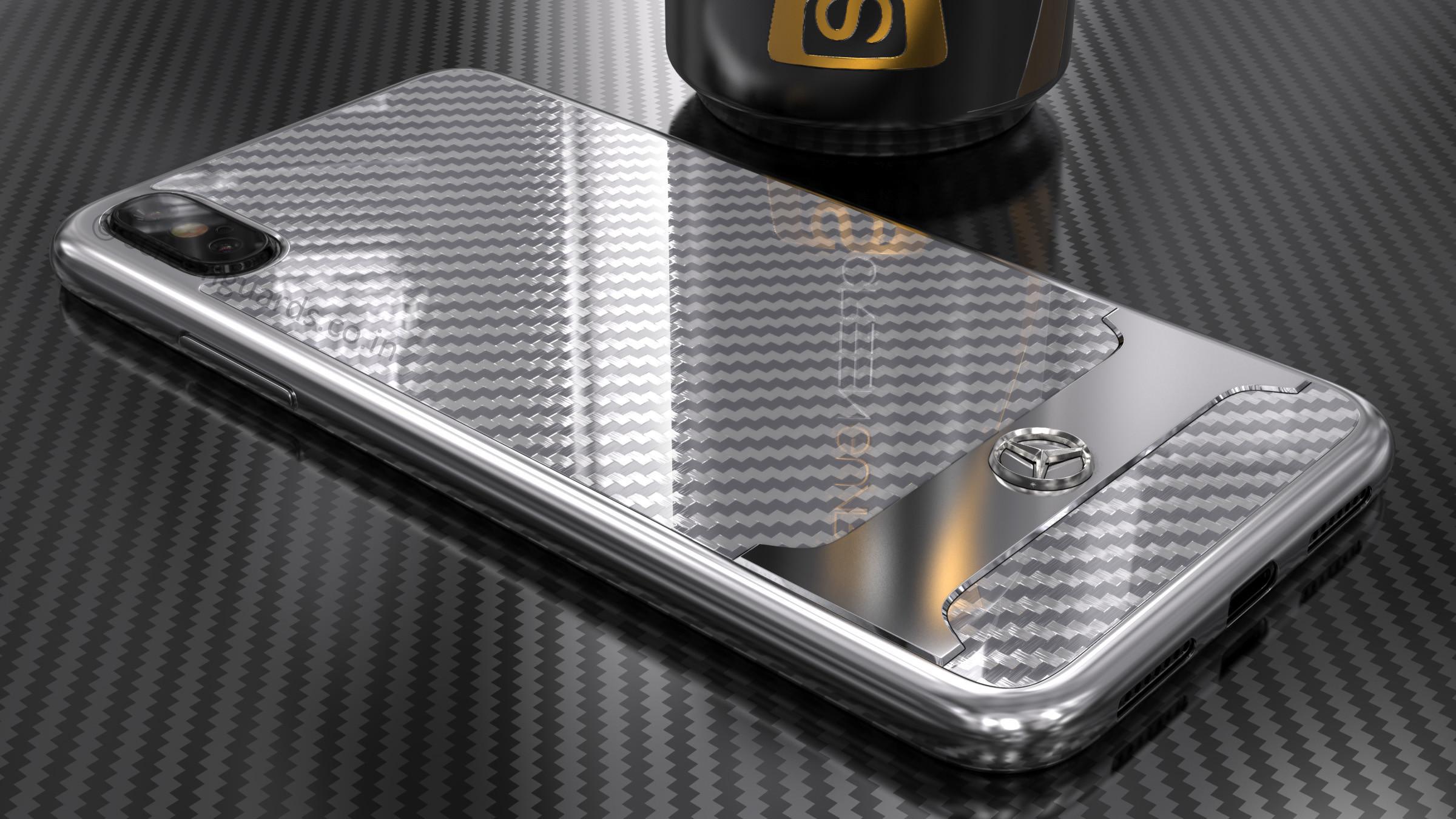iphone xs carbon fibre case