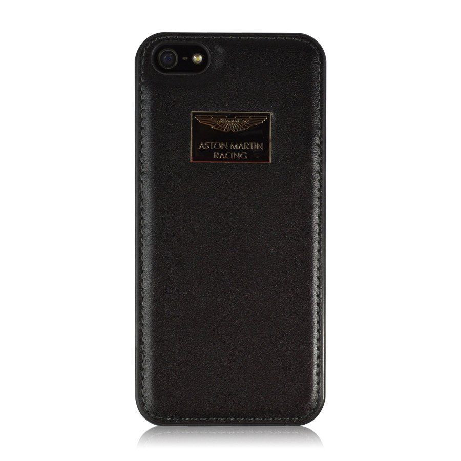 size 40 f9949 9a814 Aston Martin Racing ® Apple iPhone 5 / 5S / SE Official Hand-Stitched  Leather Case Limited Edition Back Cover