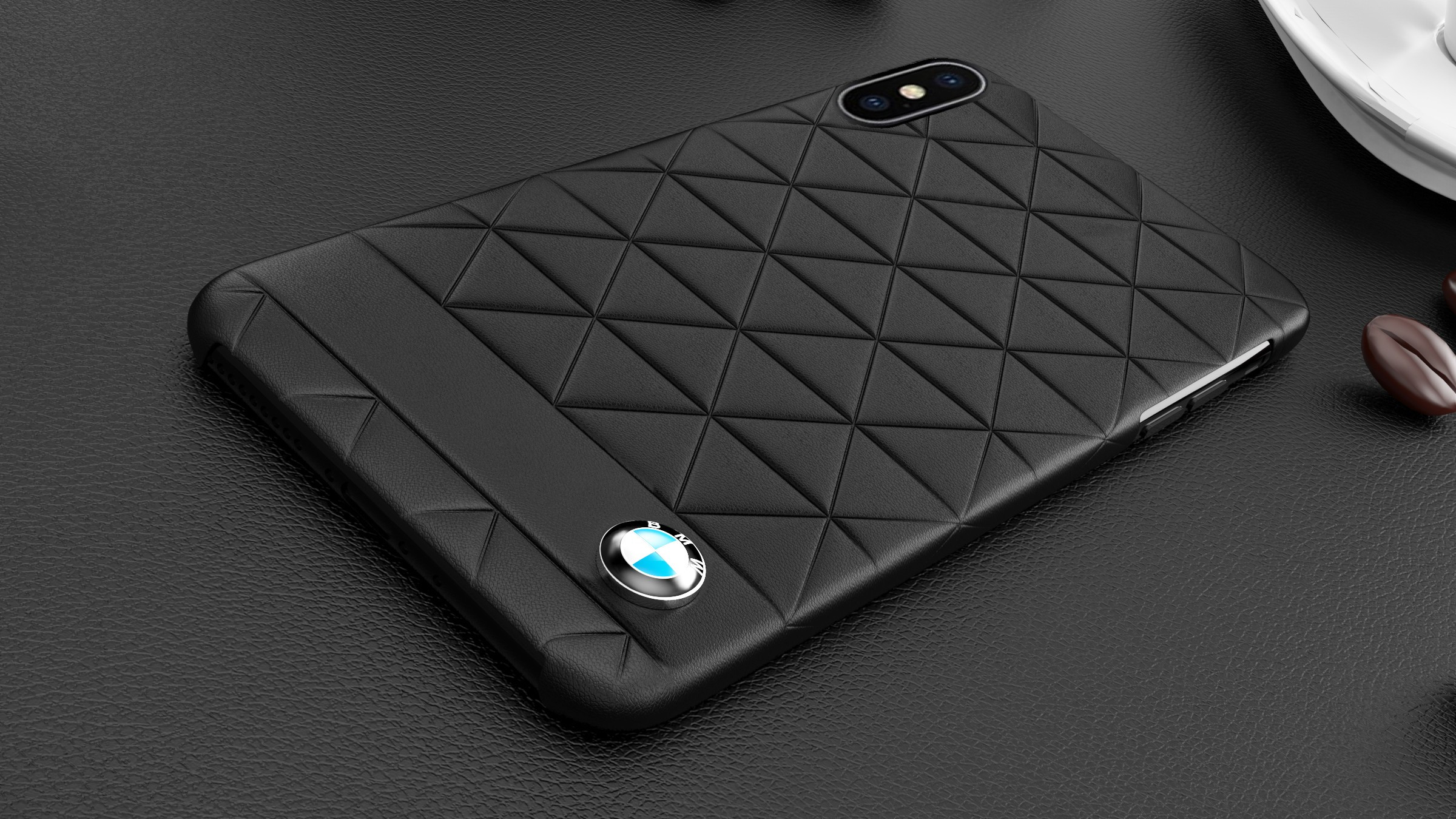 in stock 67fd5 25937 BMW ® Apple iPhone X Official Superstar zDRIVE Leather Case Limited Edition  Back Cover