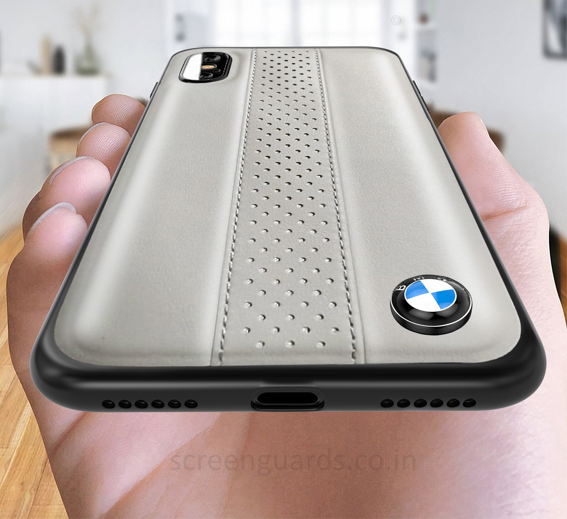 official photos c3a79 495f4 BMW ® iPhone XS MAX M2 COMPETITION freckled leather Back Case