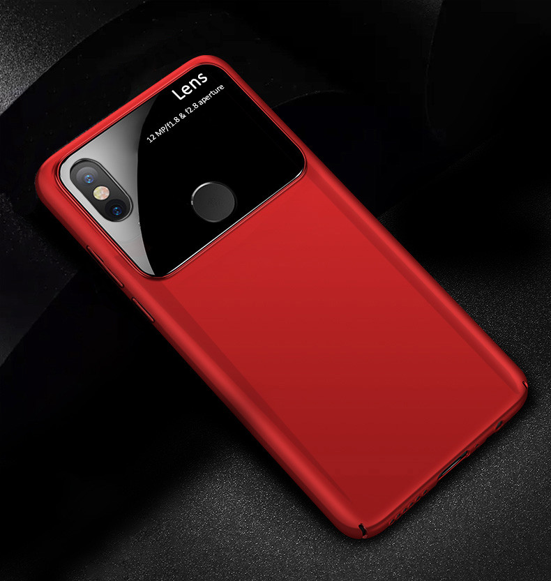 online store 6d37d 3ff5b Vaku ® Xiaomi Redmi Note 5 Pro Polarized Glass Glossy Edition PC 4 Frames +  Ultra-Thin Case Back Cover