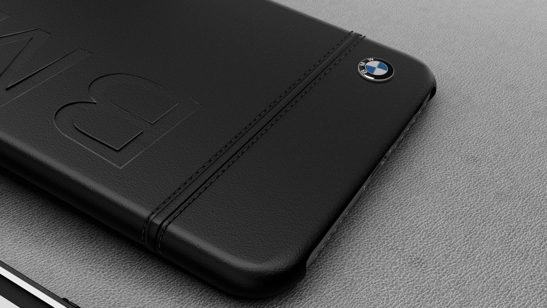 BMW Apple iPhone 8 ficial Racing Leather Case Limited Edition Back Cover