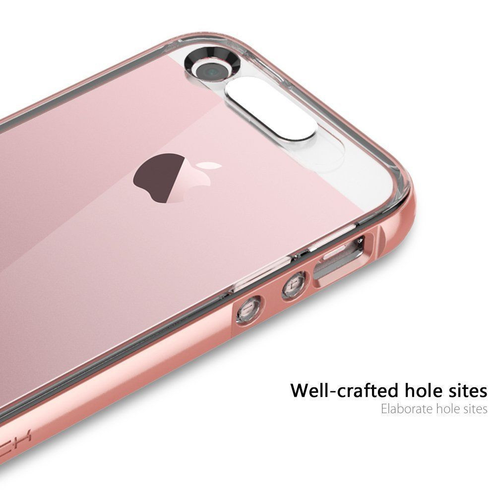 Softcase Oppo F1 List Chrome Rose Gold Transparant Tempered Glass Source · Rock Apple iPhone 5