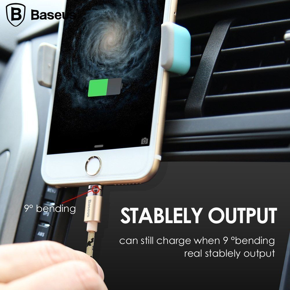 Baseus Insnap Series 1m Magnetic Auto Adhesion 24a Quick Charge Terse Leather Case Samsung Galaxy Note 5 Flip Cover Window View Data Sync Android Windows Micro Usb Charging Cable