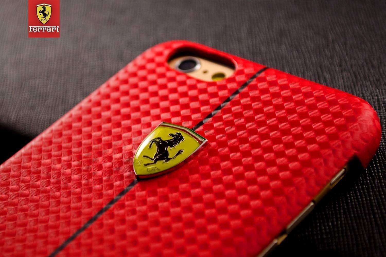 Ferrari R Apple IPhone 6 6S Formula One Carbon Fiber 3D