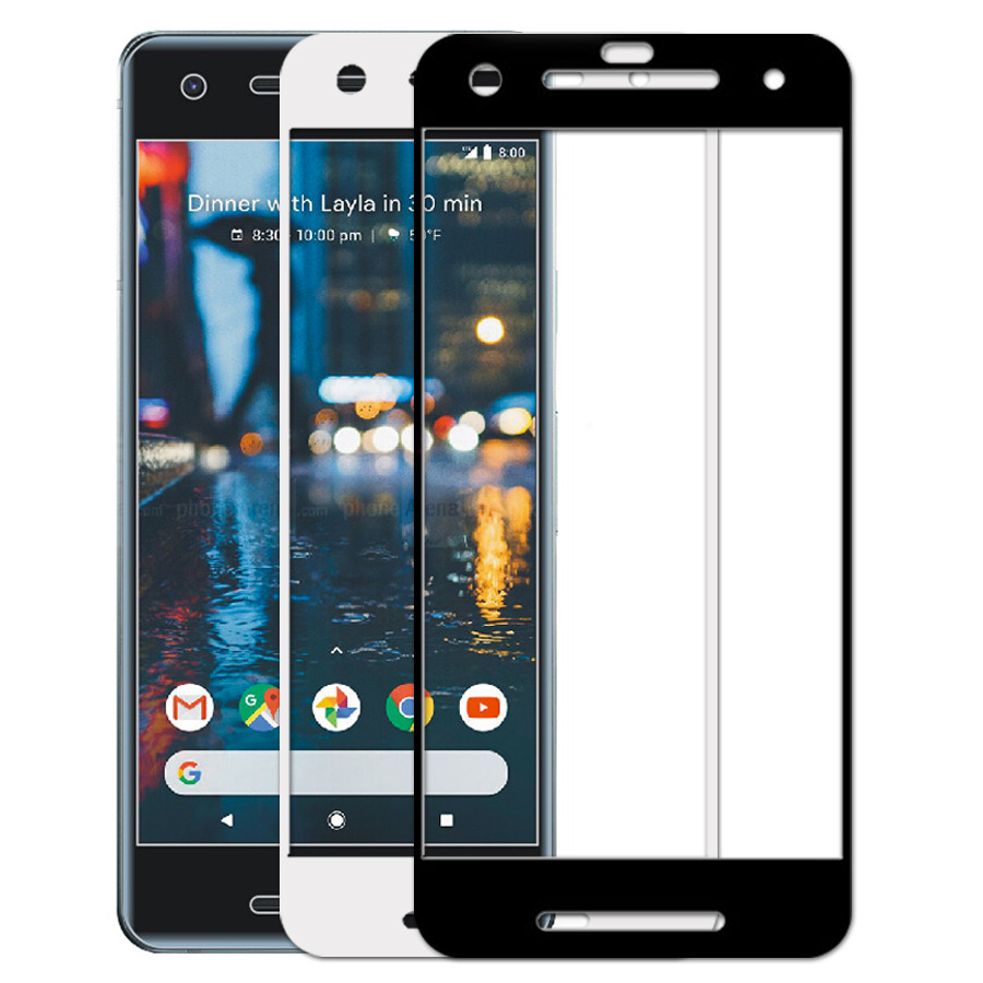 Dr. Vaku ® Google Pixel 2 5D Curved Edge Ultra-Strong Ultra-Clear