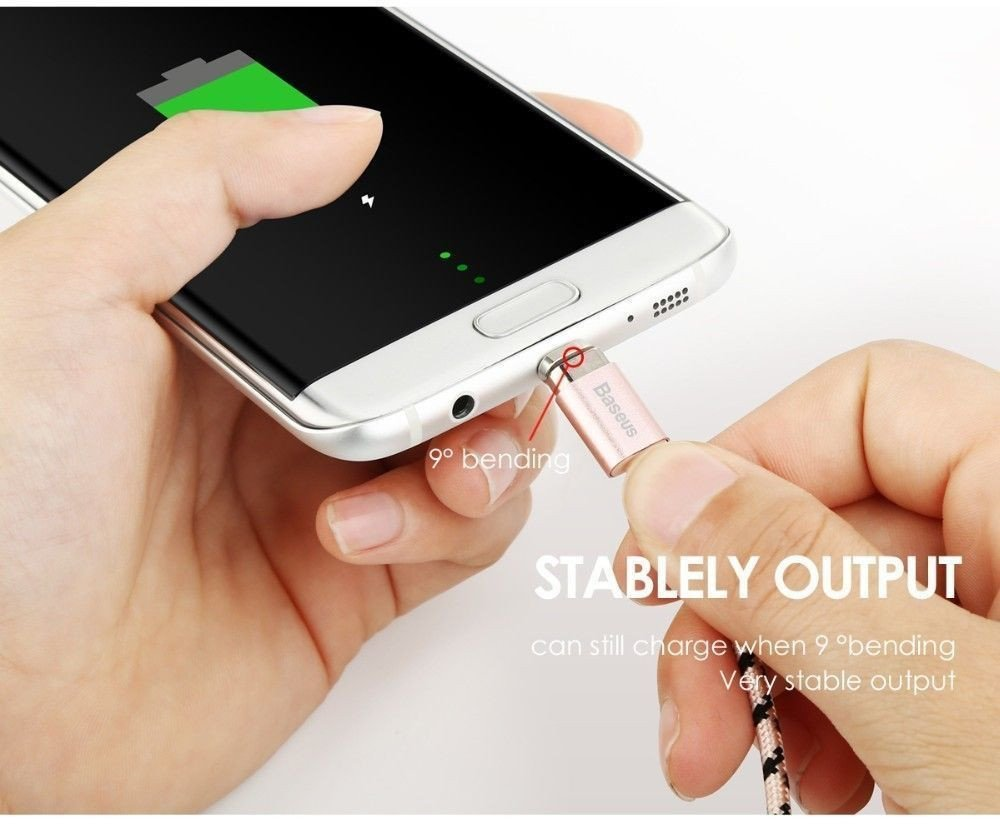 Baseus Insnap Series 1m Magnetic Auto Adhesion 24a Quick Charge Terse Leather Case Samsung Galaxy Note 5 Flip Cover Window View Data Sync