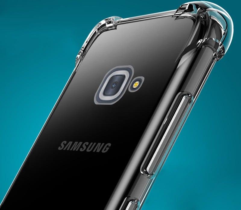 timeless design 079f6 c43d8 Vaku ® Samsung Galaxy J7 Max PureView Series Anti-Drop 4-Corner 360°  Protection Full Transparent TPU Back Cover Transparent