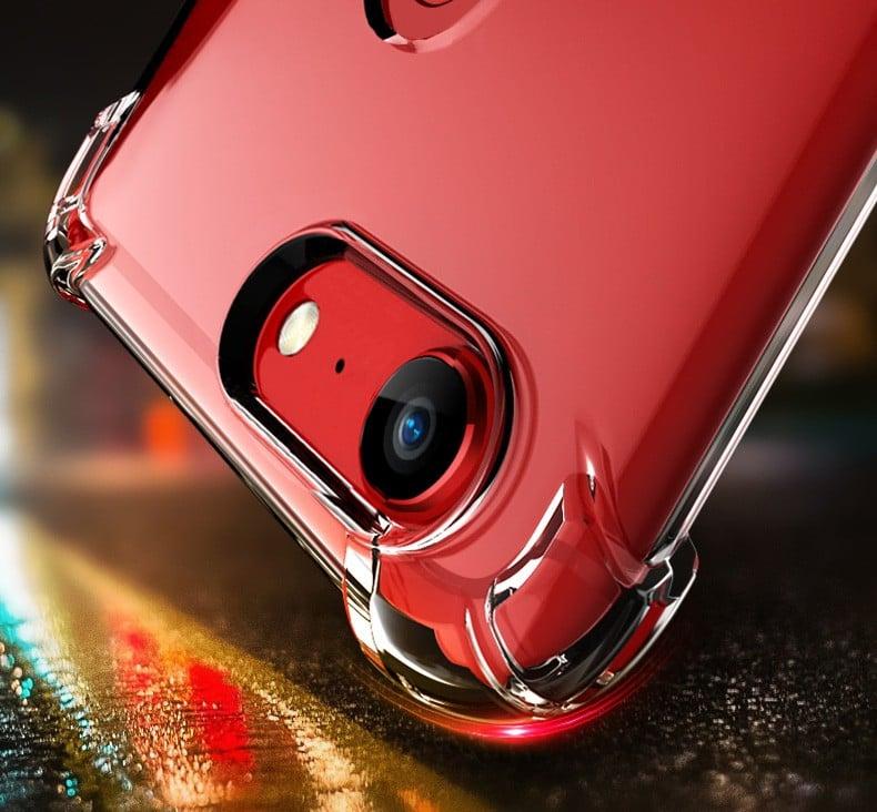 buy popular 6caab d3fc7 Vaku ® Oppo F5 PureView Series Anti-Drop 4-Corner 360° Protection Full  Transparent TPU Back Cover Transparent
