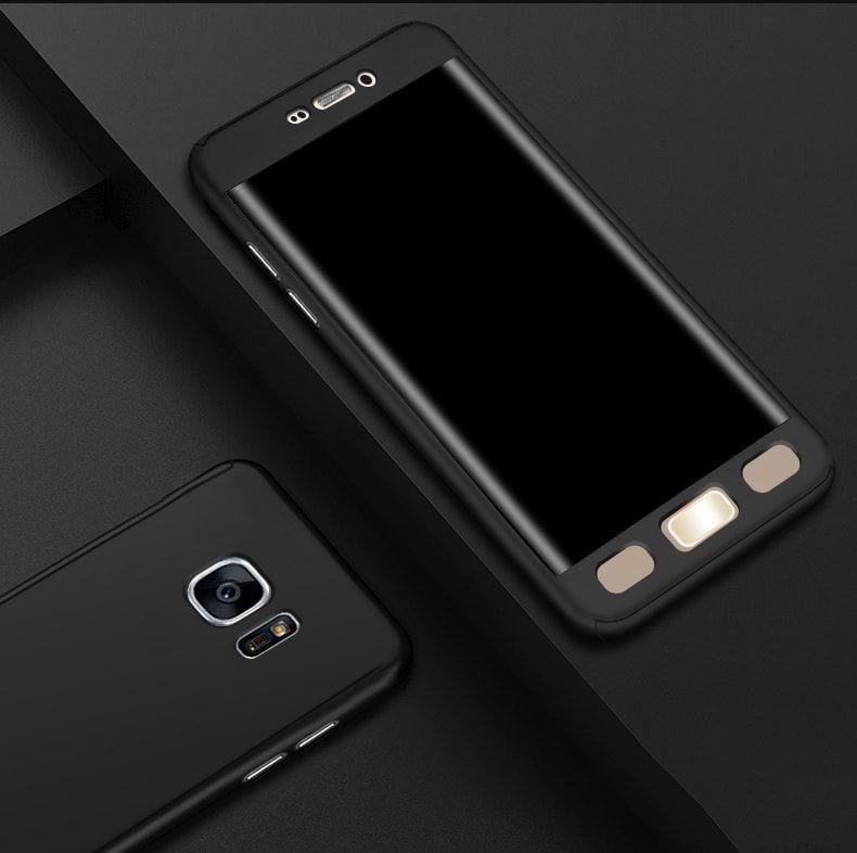Ooxoo ® Samsung Galaxy Note 5 360 Full Protection Metallic Finish 3-in-1