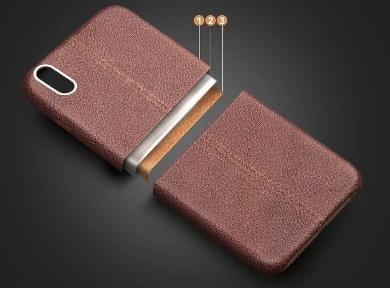 finest selection 02884 9cc4f Vaku ® Oppo A37 Lexza Series Double Stitch Leather Shell with Metallic Logo  Display Back Cover
