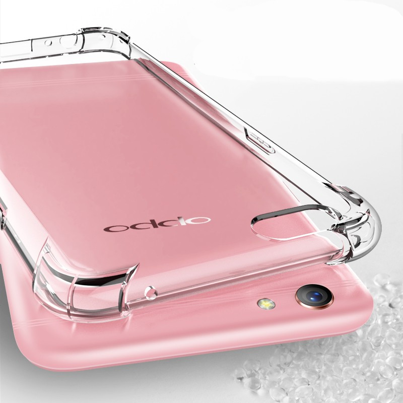 best sneakers 1dcf3 82cc7 Vaku ® Oppo A71 PureView Series Anti-Drop 4-Corner 360° Protection Full  Transparent TPU Back Cover Transparent