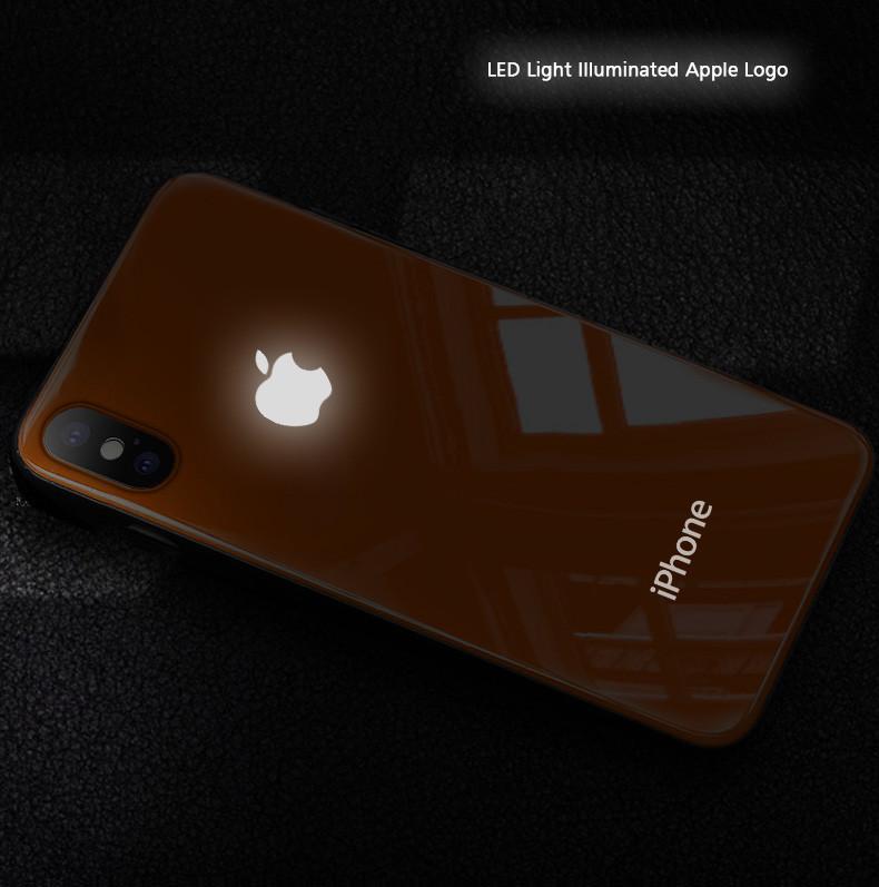 led case iphone xs max