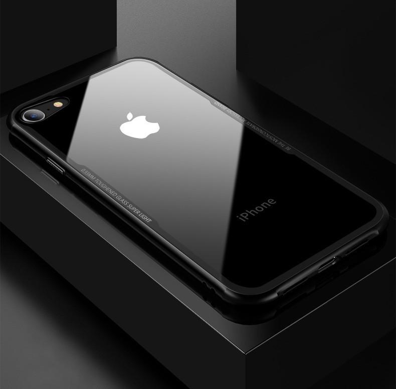Vaku ® Apple iPhone 6 Plus / 6S Plus GLASSINO Luxurious Edition Soft ...