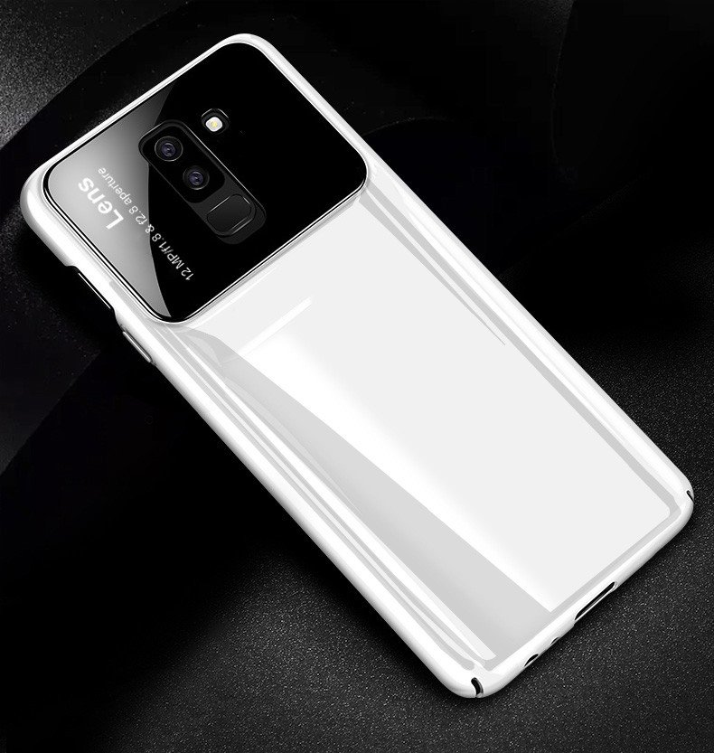 new concept c674b fbda8 Vaku ® Samsung Galaxy A6 Plus Polarized Glass Glossy Edition PC 4 Frames +  Ultra-Thin Case Back Cover