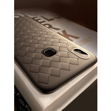 Vaku ® Vivo Y85 WeaveNet Series Cross-Knit Heat-Dissipation Edition Ultra-Thin TPU Back Cover