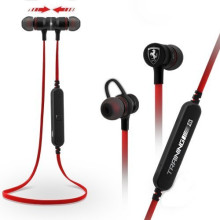 Ferrari ® Wireless Bluetooth Built In Magnet Earphones + In Line Mic