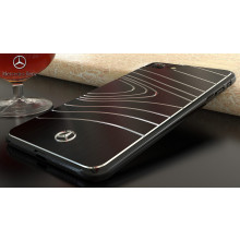 Mercedes Benz ® Apple iPhone 6 Plus / 6S Plus SLS AMG Series Electroplated Metal Drop Line Technology Case Back Cover