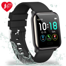 VAKU ® B1 Life Smart Watch with Sleep Monitor + Step Counter Calorie Counter and Fitness Tracker + Heat Rate Monitor