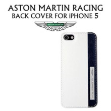 Aston Martin Racing ® Apple iPhone 5 / 5S / SE Viscous Leather Case Limited Edition Back Cover