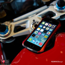 Ducati ® Apple iPhone 6 / 6S Official A6061 Aluminium with TouchPen + Strap Bumper Case / Cover