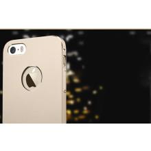 Totu ® Apple iPhone 5 / 5S / SE Thin Armor Hardshell Aluminium Bumper Case / Cover