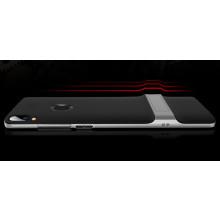 Vaku ® Vivo Y85 Royle Case Ultra-thin Dual Metal Soft + inbuilt stand soft/ Silicon Case