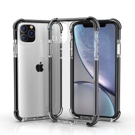Luxos ® Apple iPhone 11 Pro High-Drop Crash-Proof Ultra Curator Series Three-Layer Protection TPU Back Cover