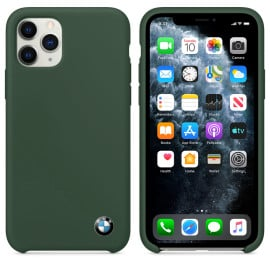 BMW ® For Apple iPhone 11 Pro Signature Series Silicon Luxurious Case Limited Edition Back Cover