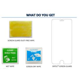 Ortel ® Micromax A100 / Canvas Screen guard / protector