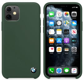 BMW ® For Apple iPhone 11 Signature Series Silicon Luxurious Case Limited Edition Back Cover