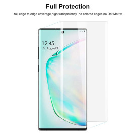 Dr. Vaku ® Samsung Galaxy Note 10 Nano Optic Curved Tempered Glass with UV Light