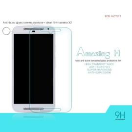 Dr. Vaku ® Motorola Moto E Ultra-thin 0.2mm 2.5D Curved Edge Tempered Glass Screen Protector Transparent
