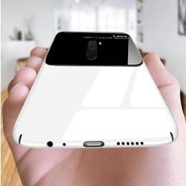 Vaku ® Xiaomi Redmi POCO F1 Polarized Glass Glossy Edition PC 4 Frames + Ultra-Thin Case Back Cover