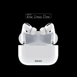 Vaku ® True Wireless Earpods with PopUp Window Function Bluetooth v5.0+EDR