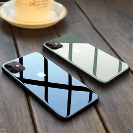 Vaku ® Apple iPhone 11 Club Series Ultra-Shine Thin PC Protection Case Back Cover