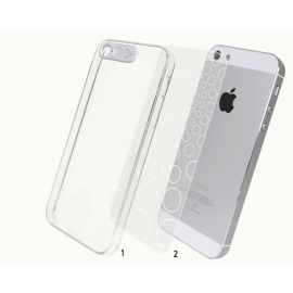 Totu ® Apple iPhone 5 / 5S / SE LED Flash Alert Bling Case Back Cover