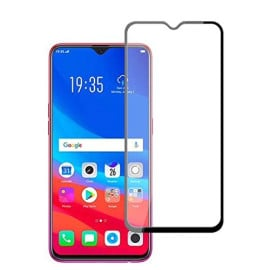 Dr. Vaku ® Oppo Realme C2 5D Curved Edge Ultra-Strong Ultra-Clear Full Screen Tempered Glass-Black