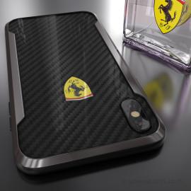 Ferrari ® iPhone XS Max APERTA Ultra-Thin with carbon fiber and Aluminum Alloy