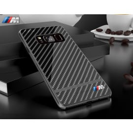 BMW M ® Samsung Galaxy S8 Plus Metallic M Series Carbon Fibre + Aluminium Hard Case Back Cover