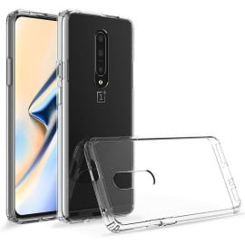 Vaku ® Oneplus 7 Pro Bayer Series with Anti yellow + Anti explosion TPE Case Back Cover
