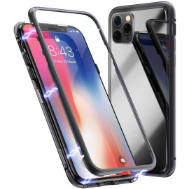 Vaku ® For Apple iPhone 11 Pro Electronic Auto-Fit Magnetic Wireless Edition Aluminium Ultra-Thin CLUB Series Back Cover