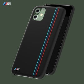 BMW Motorsports ® Apple iPhone 11 X4 M Competition Vertical Strip Pure Silicon Back Cover