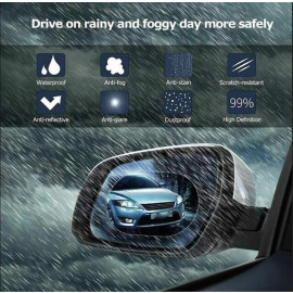 VAKU ® Car Rearview HD Anti-Fog Anti-Glare Rainproof Protective Film