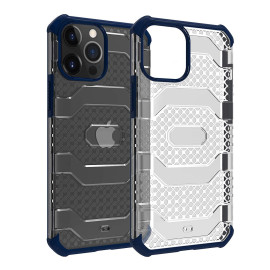 Vaku ® Apple iPhone 12 /12 Pro/12 Pro Max Matrix Series Shockproof Hard Matte TPU + PC Back Cover[ Only Back Case ]