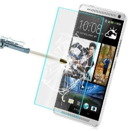 Dr. Vaku ® HTC Desire 700 Ultra-thin 0.2mm 2.5D Curved Edge Tempered Glass Screen Protector Transparent