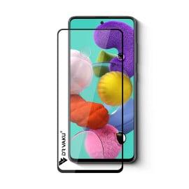 Dr. Vaku ® Samsung Galaxy A51 Full Edge-to-Edge Ultra-Strong Ultra-Clear Full Screen Tempered Glass- Black