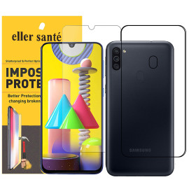 Eller Sante ® Samsung Galaxy M11 Impossible Hammer Flexible Film Screen Protector (Front+Back)