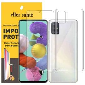 Eller Sante ® Samsung Galaxy A51 Impossible Hammer Flexible Film Screen Protector (Front+Back)