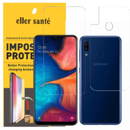 Eller Sante ® Samsung Galaxy A30 Impossible Hammer Flexible Film Screen Protector (Front+Back)